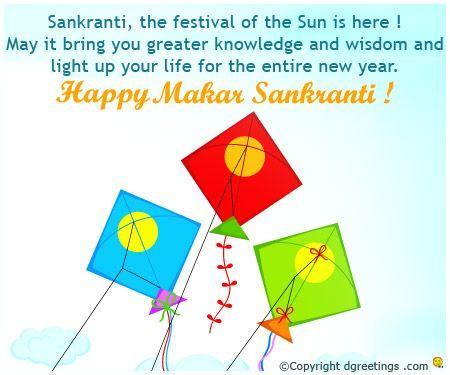 Wish prosperity and joy on Makar Sankranti.