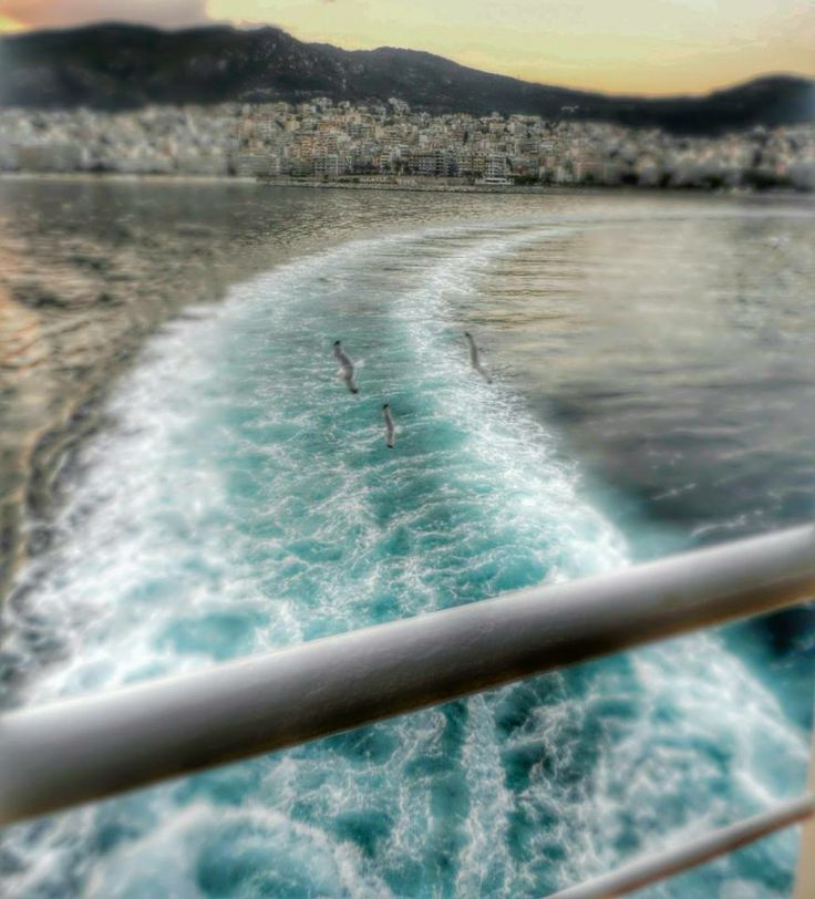On the way to Beautiful Thassos Island