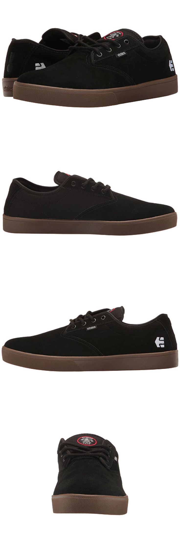 Books and Video 58128: Etnies 4107000518 964 Jameson Sl X Flip Mn S (M) Black Gum Suede Skate Shoes -> BUY IT NOW ONLY: $34.99 on eBay!