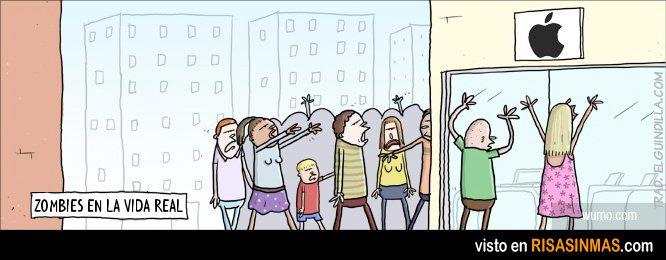 Zombies en la vida real.