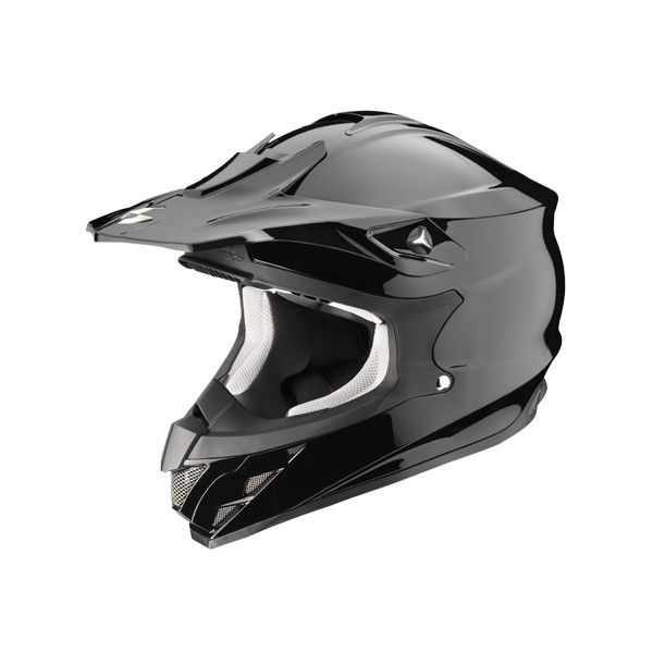 Casque Scorpion Vx 15 uni - Noir - Speedway #speedwayfr #speed #france #moto #casque #black #noir #casques #cross