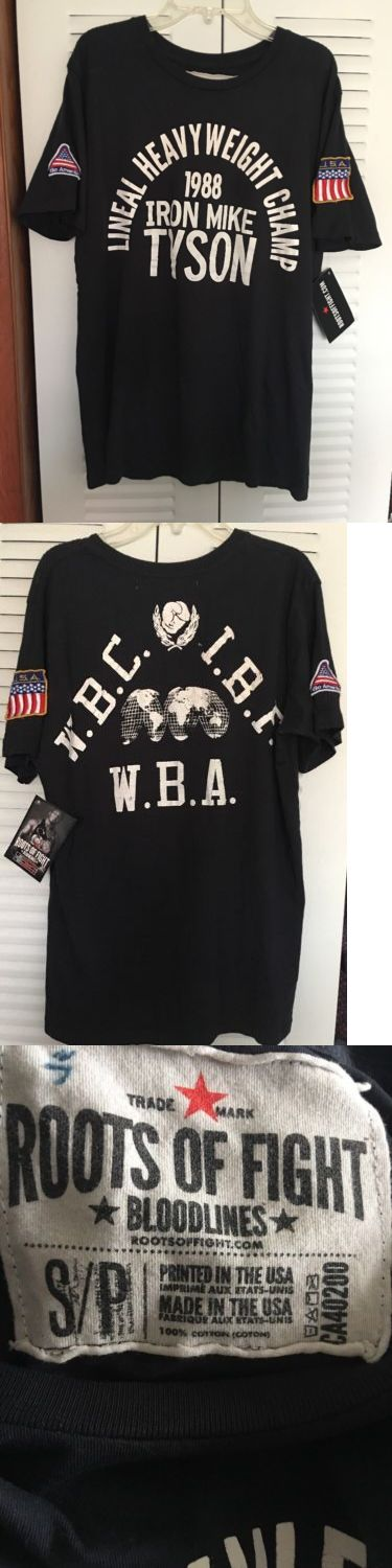 Boxing 1227: ? Roots Of Fight Lineal Heavyweight Champ 1988 Iron Mike Tyson T-Shirt Small S ? -> BUY IT NOW ONLY: $35 on eBay!