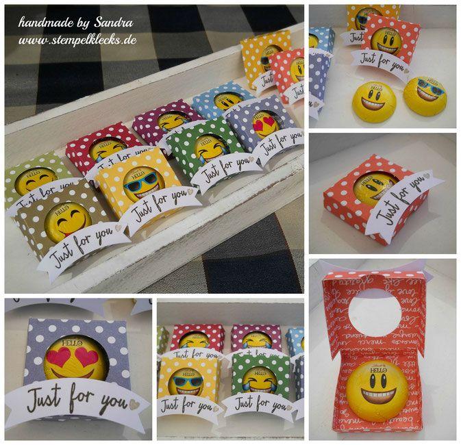 Lustige Emoji Goodies - Stempelklecks - Stempeln, Stanzen und Basteln mit Stampin' Up! -