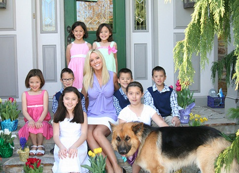 Tell All Book alleges Kate Gosselin disciplines her kids with wooden spoons.