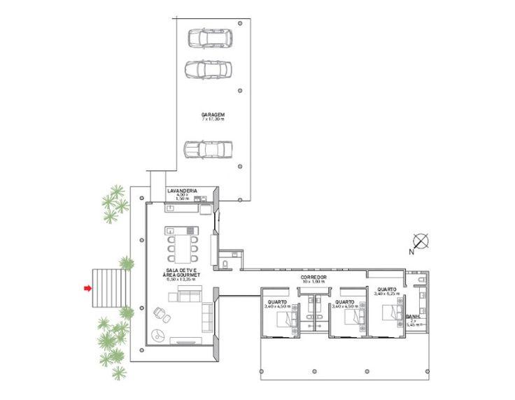planta1-estrutura-de-concreto-abriga-cozinha-supercolorida-em-casa-de-campo