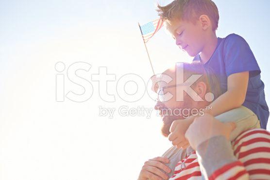 Celebrating Independence Day royalty-free stock photo
