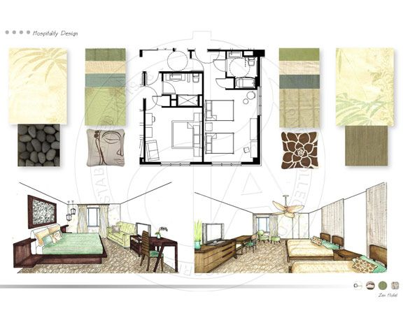 Interior Design Porfolio   Student Work | Paier College Of Art ..