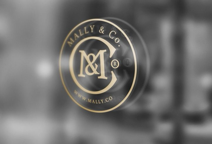 MALLY & Co. Interior by Zofia Wyganowska & Branding by Lange & Lange fashion branding branding