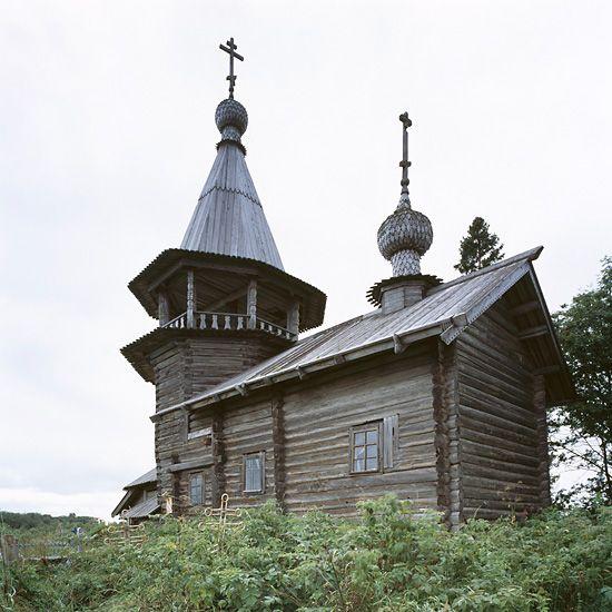 North Russia: Ust'Yandoma, Karelia region, Chapel of St George