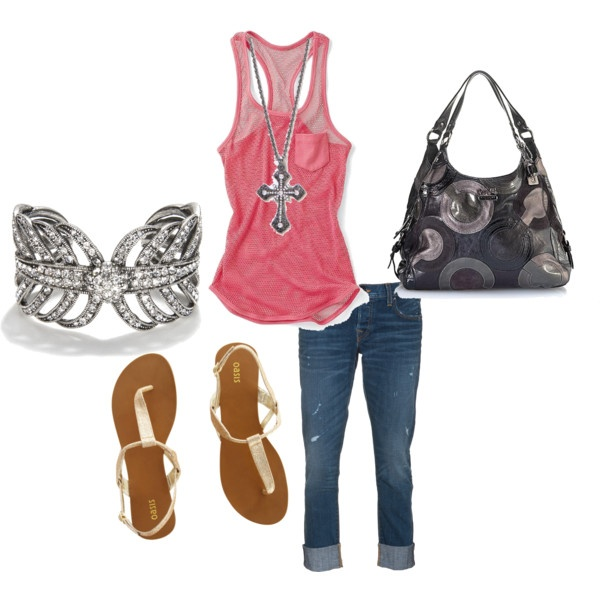 Outfit: Capri Outfit, Outfit Idea, Dreams, Style, Girl Outfits, Clothes Shoes Purses, Polyvore, Melaniebowman, Senior Girls