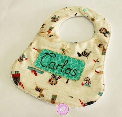 #babero #personalizado #canastilla #bebe #regalos #nacimientos #ideas #handmade #hechoamano
