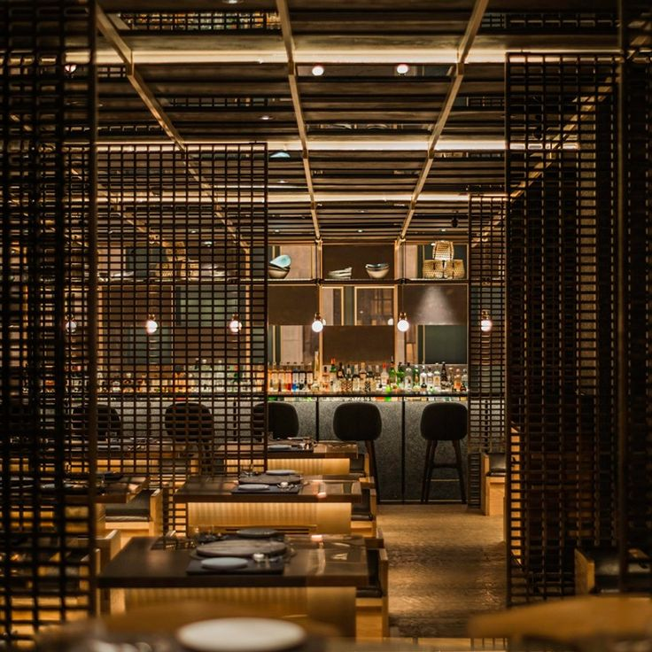 located within the historic three on the bund building, neri & hu uses texture in materiality to capture an abstract and contemporary architectural experience, that has been created to complement the unique gastronomic experience.