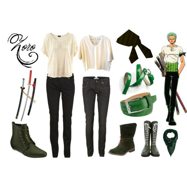 """""""Casual Cosplay - Zoro"""" by casual-cosplay on Polyvore"""
