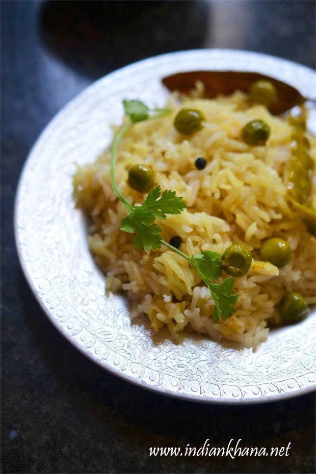 Plain Pulao is easy, flavorful pulao made in pressure cooker and goes well with any side dish