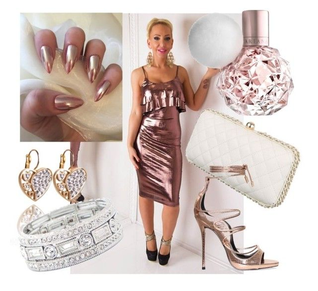 """""""Metallic party shine"""" by maniaxtreme on Polyvore featuring Sole Society"""
