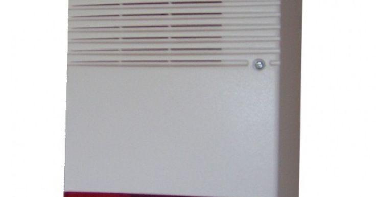 Κουτί εξωτερικής σειρήνας 400 DUMMY   Κουτί εξωτερικής σειρήνας Διαθέτει θήκη για 3 μπαταρίες ΑΑ και ένα LED ενδεικτικής λειτουργίας Χρώμα λευκό με κόκκινο φάρο Διάρκεια μπαταριών 1 έτος