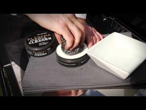 Comment nettoyer la Plancha? Regardez la vidéo