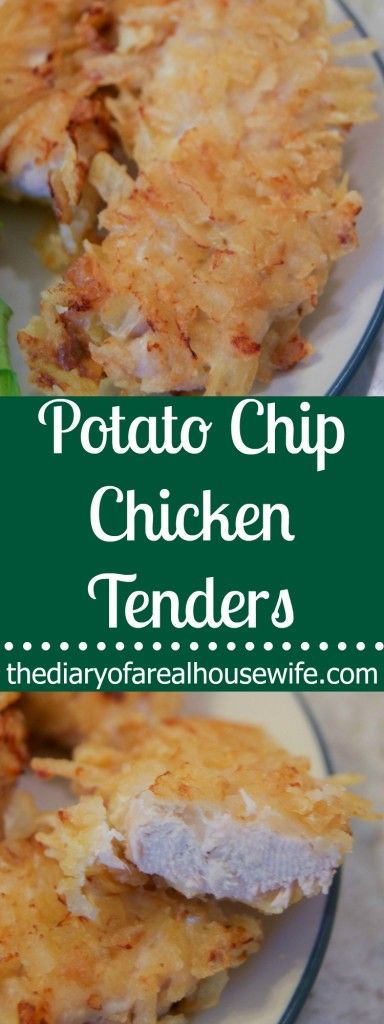 The BEST Potato Chip Chicken Tenders. I was so surprised on how much I loved these.