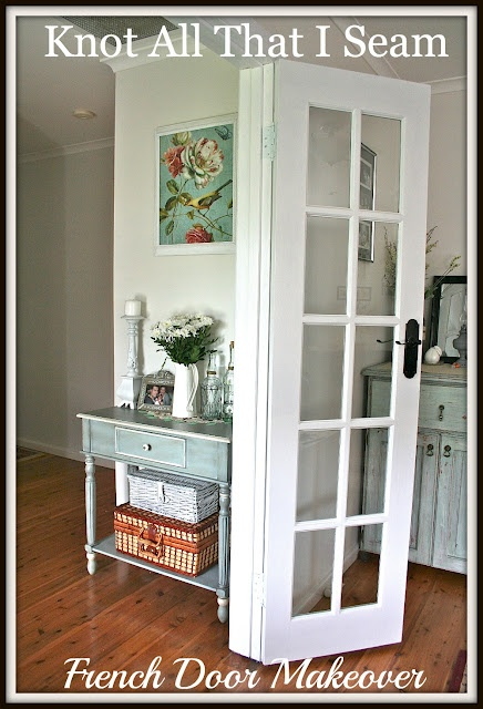 Internal white french door makeover French doors, French