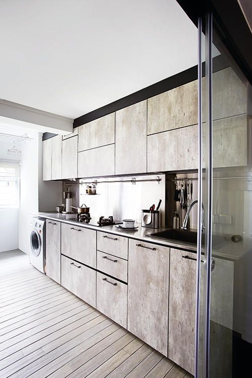 33 best 3 room flat reno ideas images on pinterest for Small practical kitchen designs