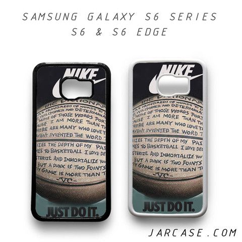 nike basketball quote Phone case for samsung galaxy S6 & S6 EDGE