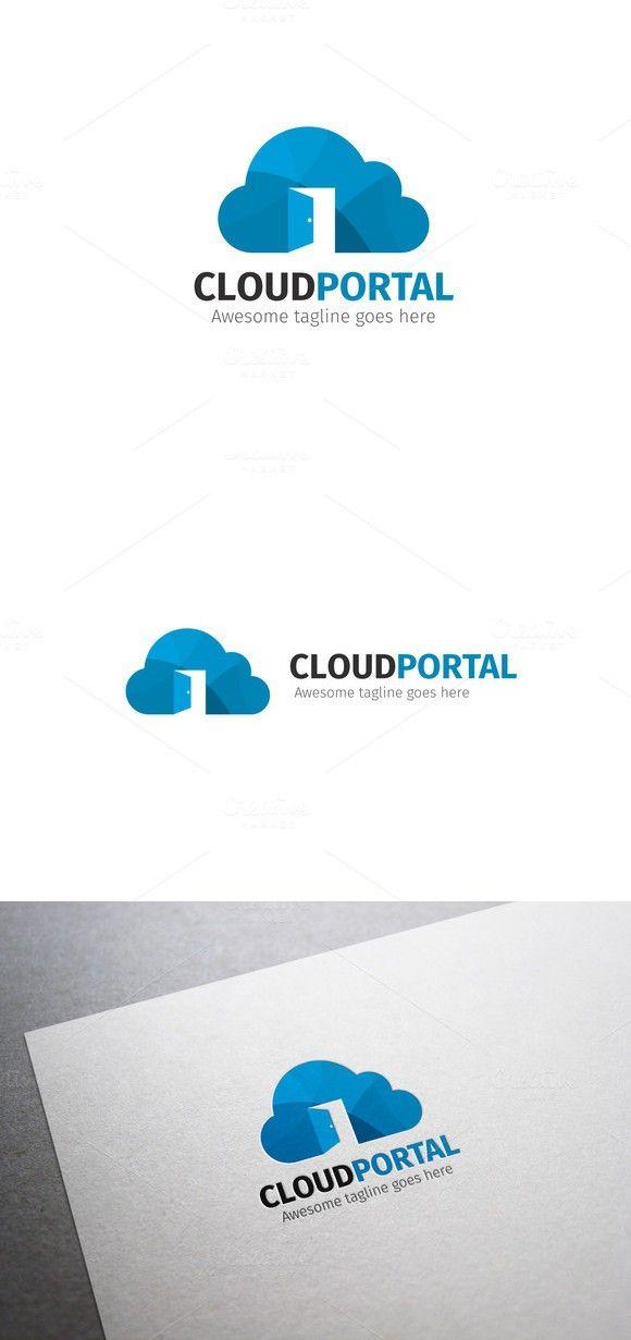 Cloud Portal Logo. Logo Templates. $24.00