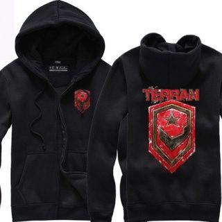 StarCraft plus size zip up hoodie for men Terran
