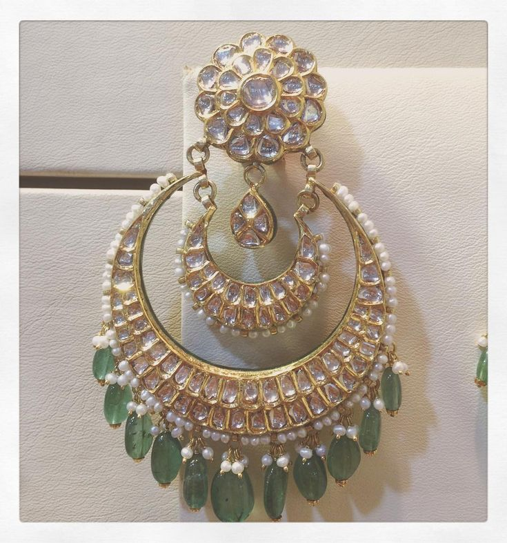 Best 25 Chand Bali Earrings Gold Ideas On Pinterest