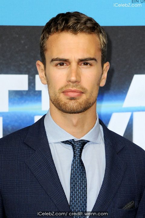 Theo James   German premiere of