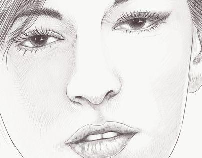 """Check out my @Behance project: """"Alexandra"""" https://www.behance.net/gallery/57011205/Alexandra"""