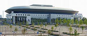 SAP Arena Adler Mannheim hockey