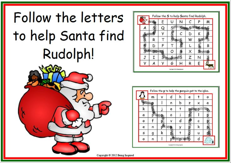 "FREE LANGUAGE ARTS LESSON - ""'Christmas Letter Maze Freebie - Help Santa Find Rudolph"" - Go to The Best of Teacher Entrepreneurs for this and hundreds of free lessons.  http://thebestofteacherentrepreneurs.blogspot.com/2012/12/free-language-arts-lesson-christmas.html"