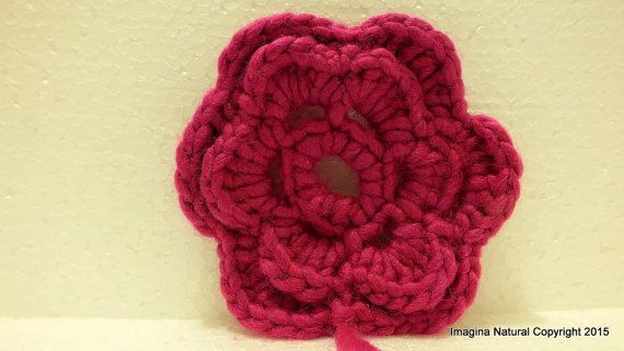 Cute Woolen Knitted Brooch Clothing Accessory by ImaginaNatural