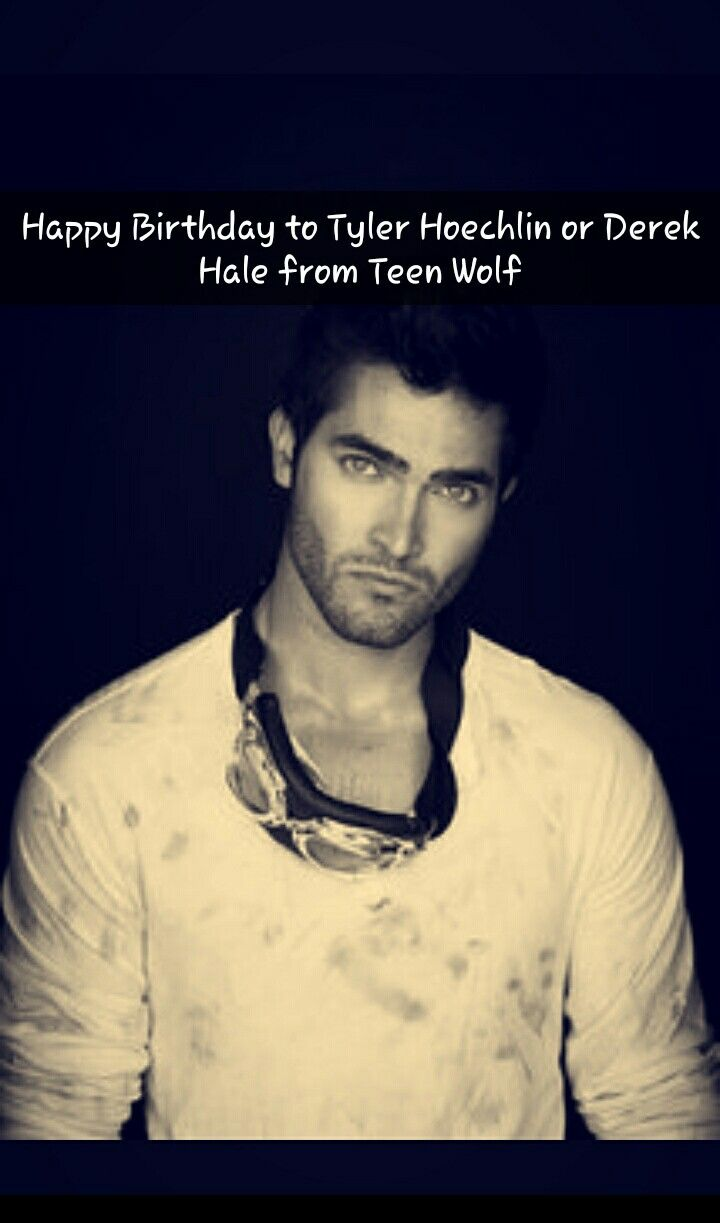 Happy 29th Birthday to the talented Tyler Hoechlin who plays Superman in Supergirl AND the super hot and awesome Derek Hale! By: danaya.rakhimova
