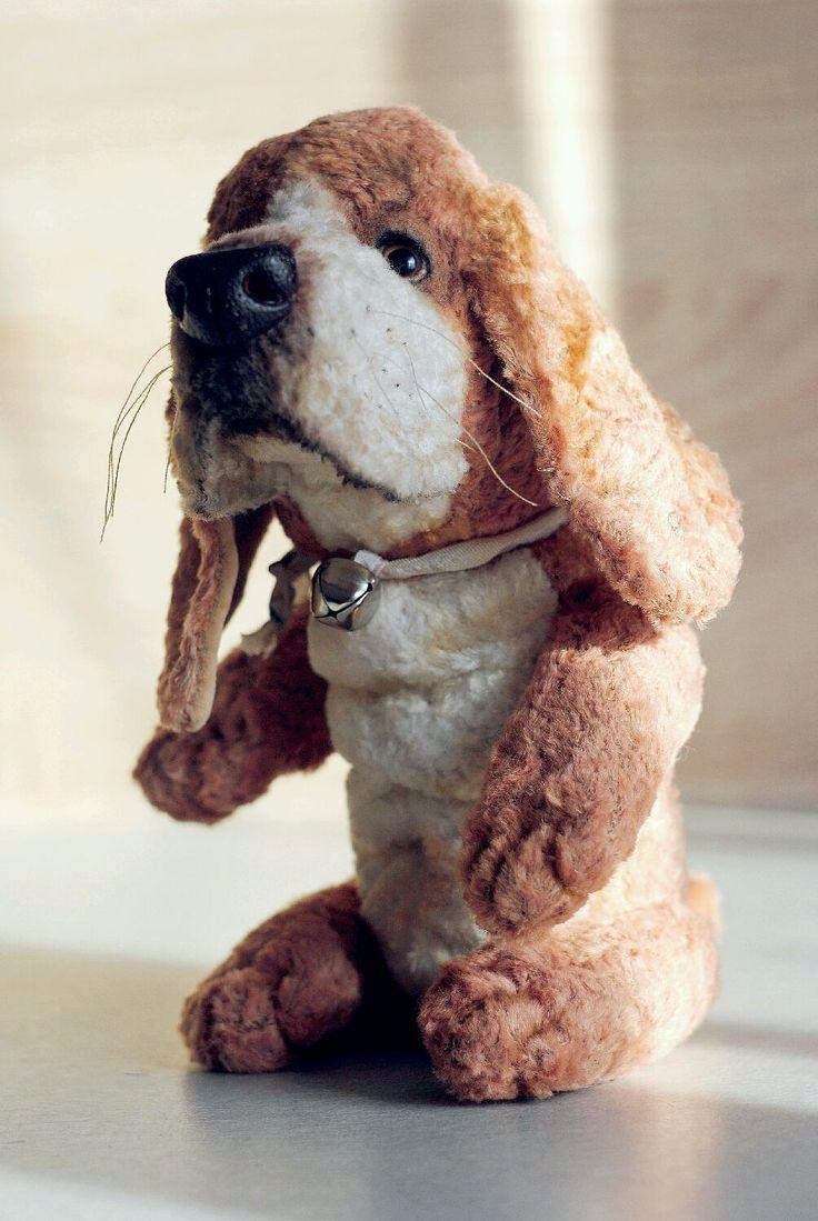 Купить Бассет хаунд.Игрушка тедди.Последний щенок. - собака, щенок, тедди, медведи тедди