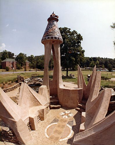 Castle at Wilson Park, Fayetteville Arkansas USA, Frank Williams, 1980 - Playscapes