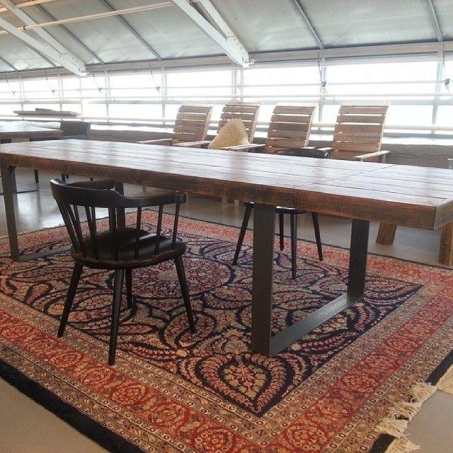 Vårt #showroom er åpent i morgen kl.10-13 kom til #drivvedland #drivved bord #Ålesund m/tilleggsplater