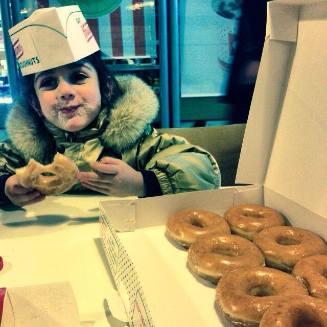 Krispy Kreme и Masha