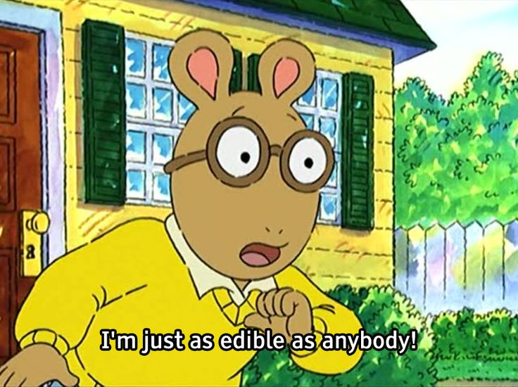 screencaps of the hit pbs kid's show arthur. out of context, except when they're not. why not suss...