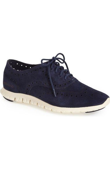 Cole Haan 'ZeroGrand' Perforated Wingtip (Women) (Nordstrom Exclusive) |  Nordstrom