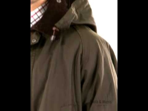 Mens Barbour Classic Bedale Waxed Jacket - in exclusive Barbour Mediumweight Sylkoil with pure Cotton Barbour Tartan lining.