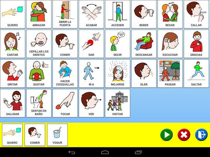Talk Up! Comunicación Aumentativa y Alternativa: ¿Cómo funciona el cuaderno de pictogramas?