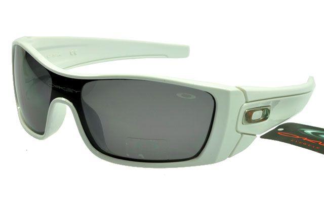 Oakley Lifestyle Sunglasses White Frame Gray Lens 0714 [ok-1724] - $12.50 :