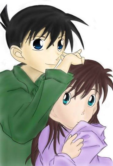 kudou shinichi and mouri ran