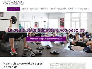 Bienvenue au Moana Club, une salle de sport et de fitness polyvalente au centre de Grenoble !