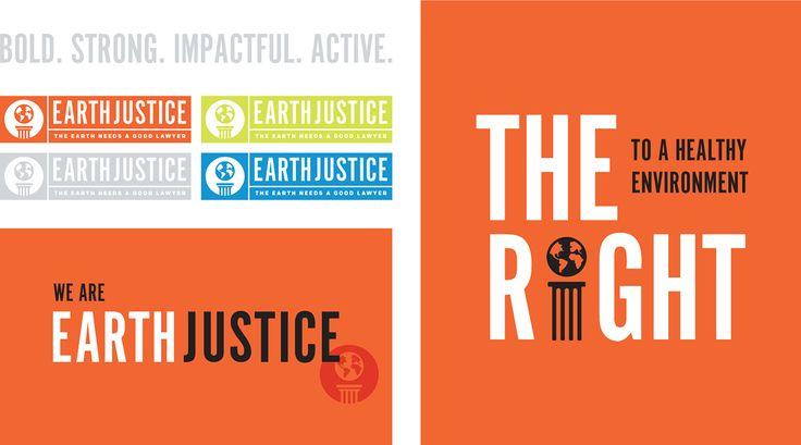 Earthjustice on Behance