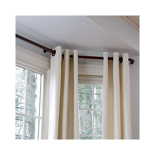5 Curtain Ideas For Bay Windows Curtains Up Blog: Bay Window Ideas Curtains And Rods
