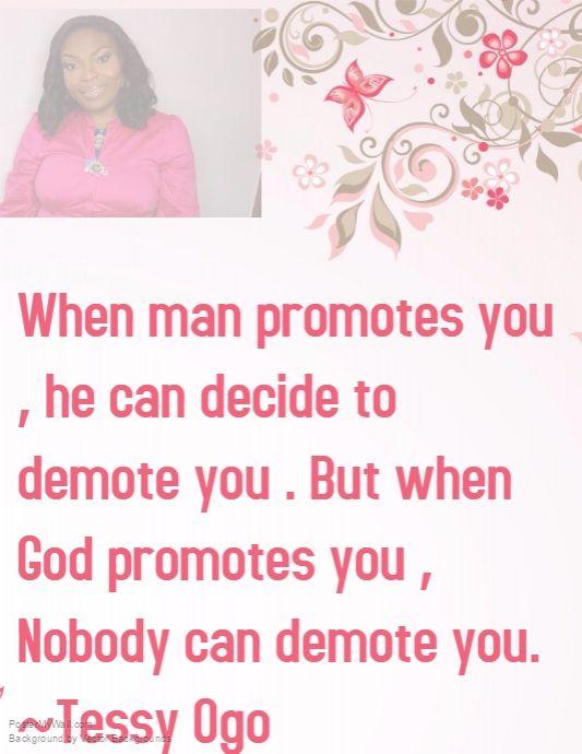 God the promoter