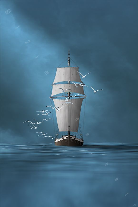 Homecoming Sailboat Art Boat Painting Boat Art