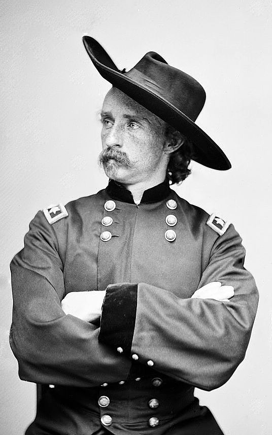 wow...he really did live here once...just imagine him...a fellow sojourner in a different time zone...General George Custer